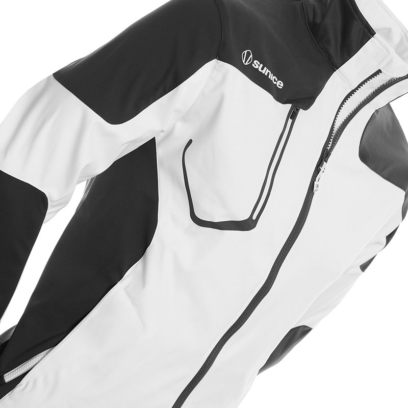 Sunice Golf Austin Softshell Jacket White