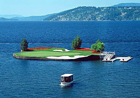 Floating Golf Hole