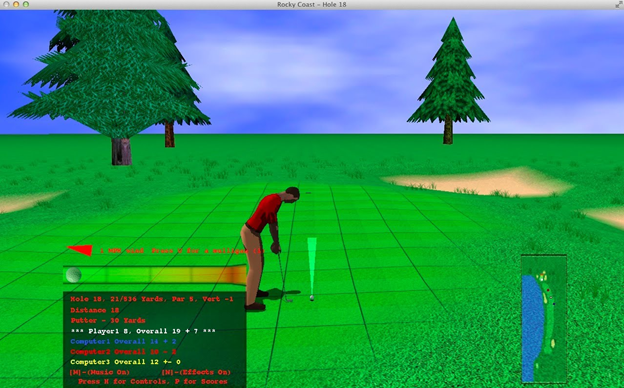 Golf Games in the Apple Store