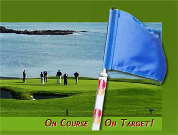 Golf Flagstick Advertising