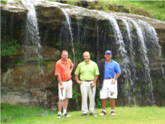 Golfers at Sultan's Run