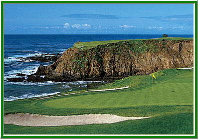 Pebble Beach Hole 8